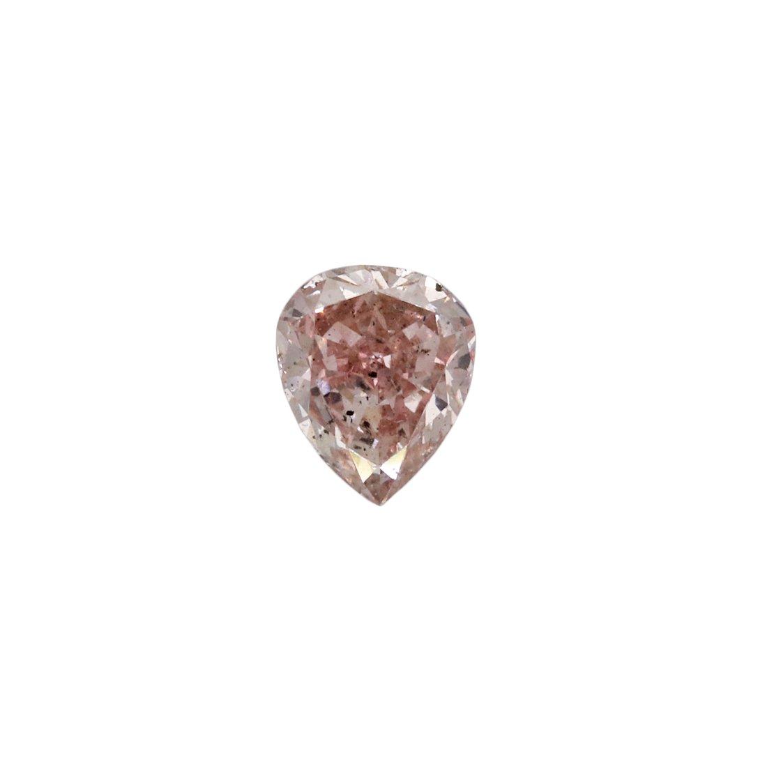 0.21ct Natural Fancy Pink, 6PR, SI2, Argyle Pink Diamond
