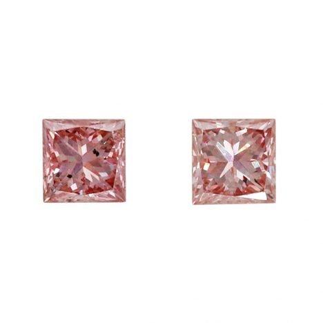 2=0.14ct Natural Fancy Intense Pink, 5P, SI1, Argyle Pink Diamond