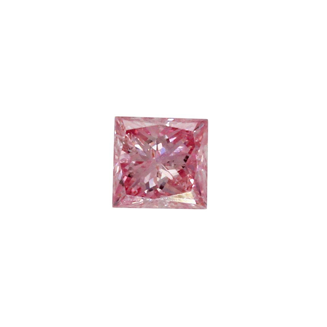 0.10ct Natural Fancy Intense Pink, 6PP, I1, Argyle Pink Diamond