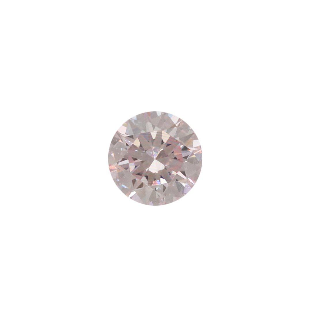 0.15ct Natural Fancy Light Pink, 8P, VVS1, Argyle Pink Diamond