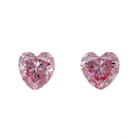 2=0.14ct Natural Fancy Purplish Pink, 6PP, SI1, Argyle pink diamond