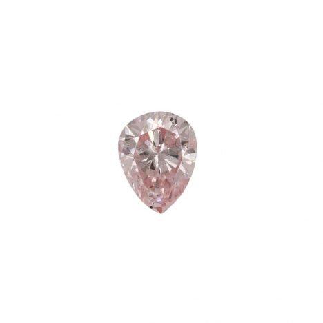 0.19ct Natural Fancy Light Pink, 7P, SI2, Argyle Pink Diamond