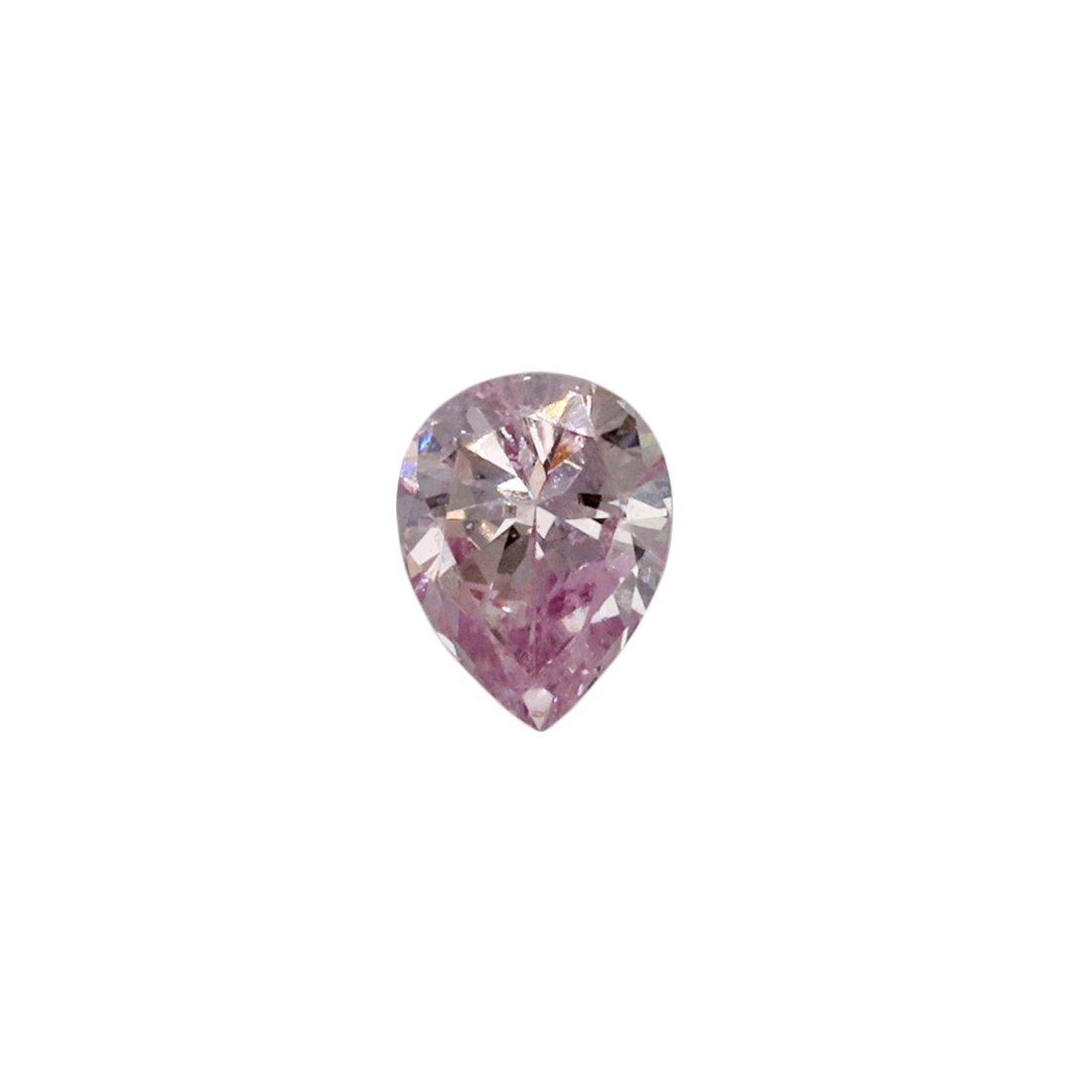 0.10ct Natural Fancy Purplish Pink, 7PP, SI2, Argyle Pink Diamond