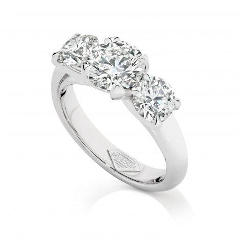 Teiza Trilogy Diamond Ring