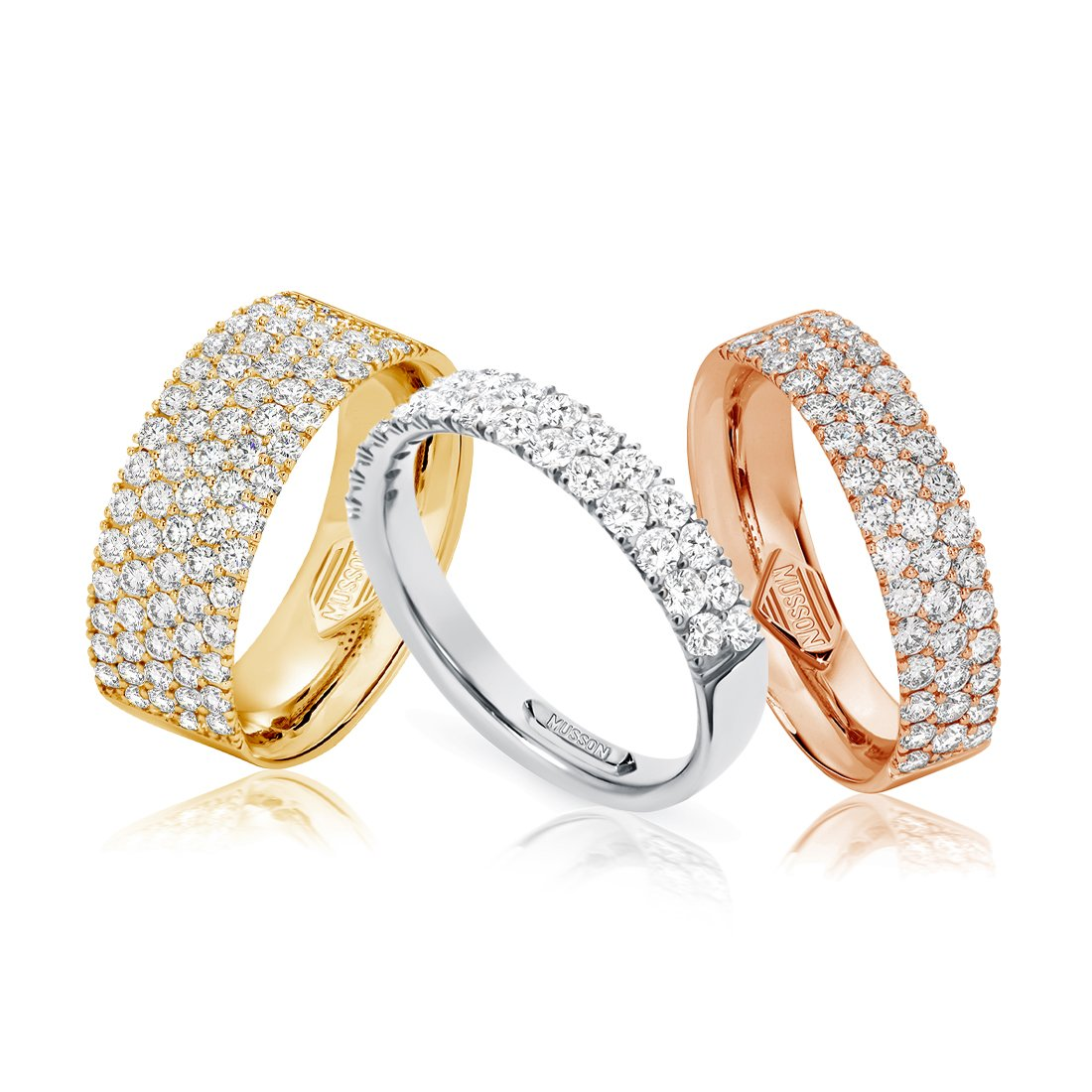 Diamond Road Rings
