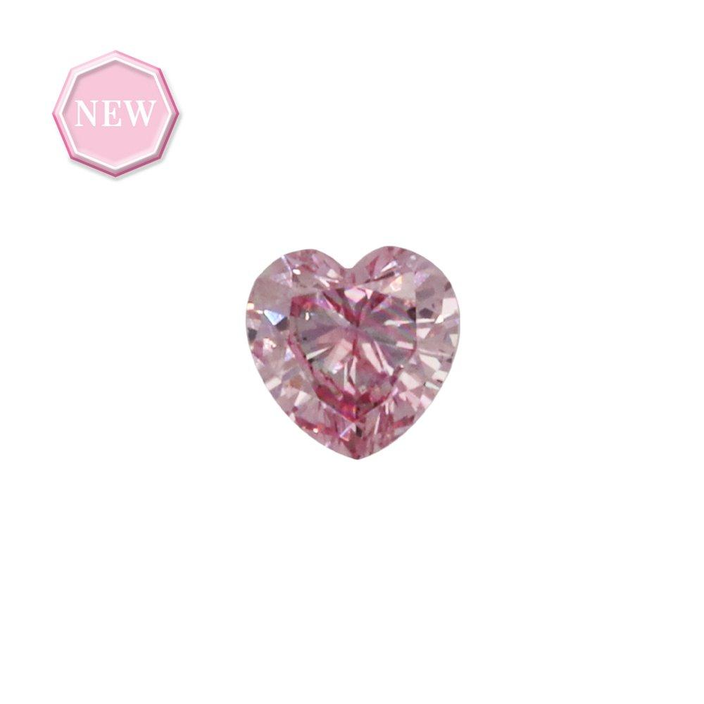 0.09ct Natural Fancy Intense Purplish Pink, 5PP, SI1, Argyle pink diamond