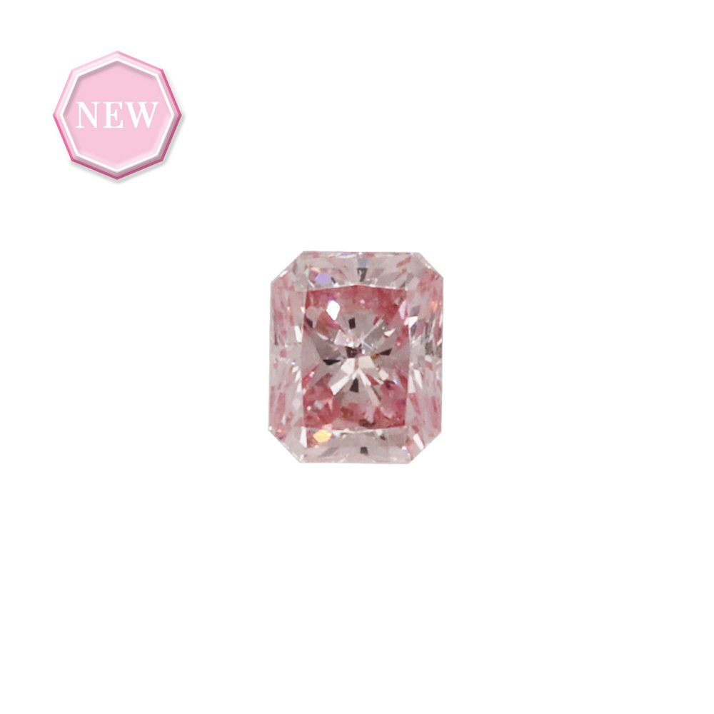 0.15ct Natural Fancy Pink, 6P, SI2, Argyle pink diamond