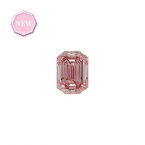 0.19ct Natural Fancy Intense Pink, 6P, SI1, Argyle pink diamond