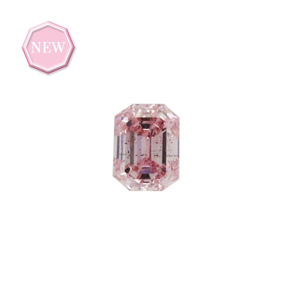 0.16ct Natural Fancy Purplish Pink, 6PP, SI1, Argyle pink diamond