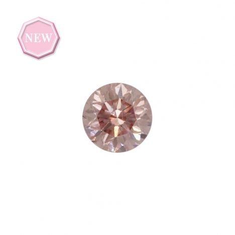 0.14ct Natural Fancy Pink, 6PR, SI1, Argyle pink diamond