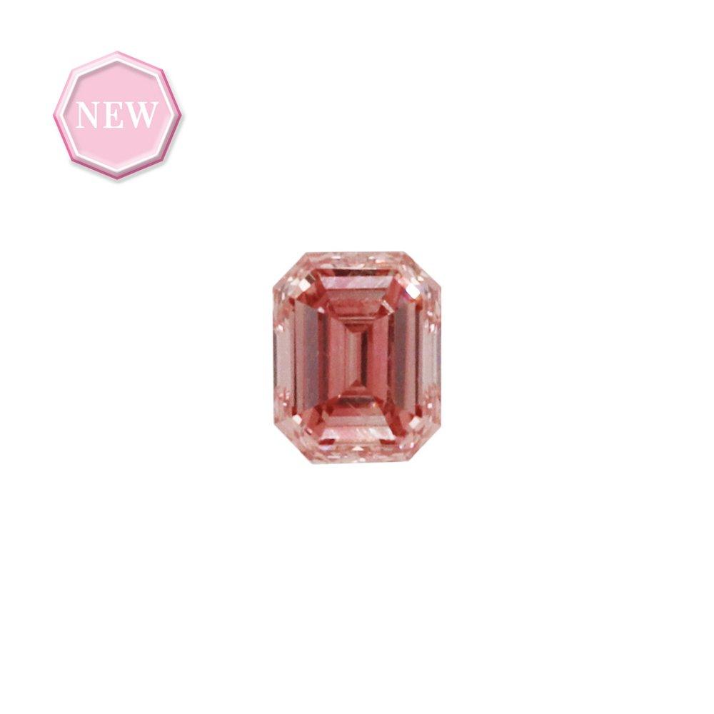 0.14ct Natural Fancy Intense Pink, 4PR, SI1, Argyle pink diamond