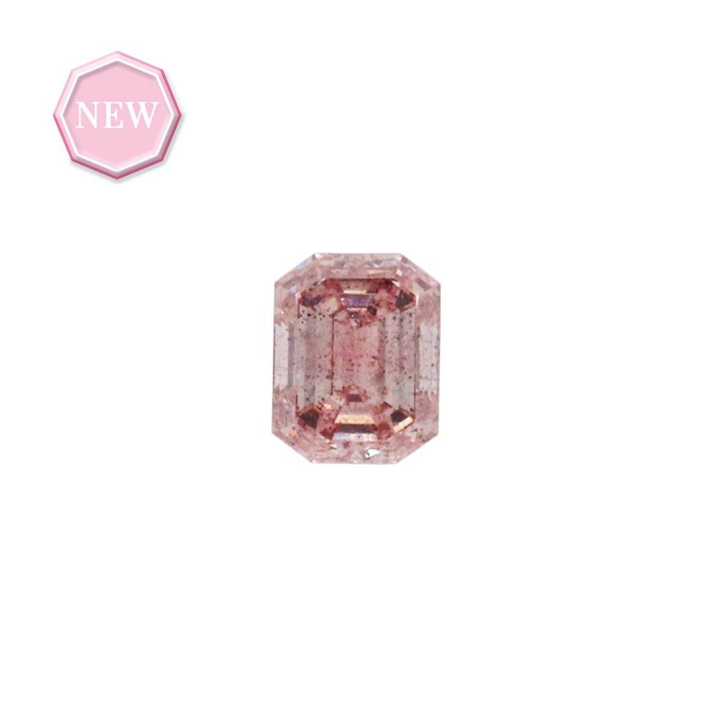 0.17ct Natural Fancy Pink, 6PR, SI2, Argyle pink diamond