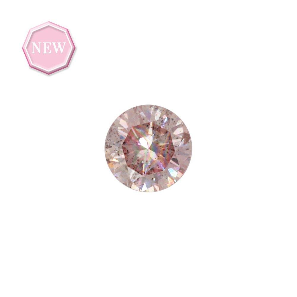 0.20ct Natural Fancy Pink, 7PR, I1, Argyle pink diamond