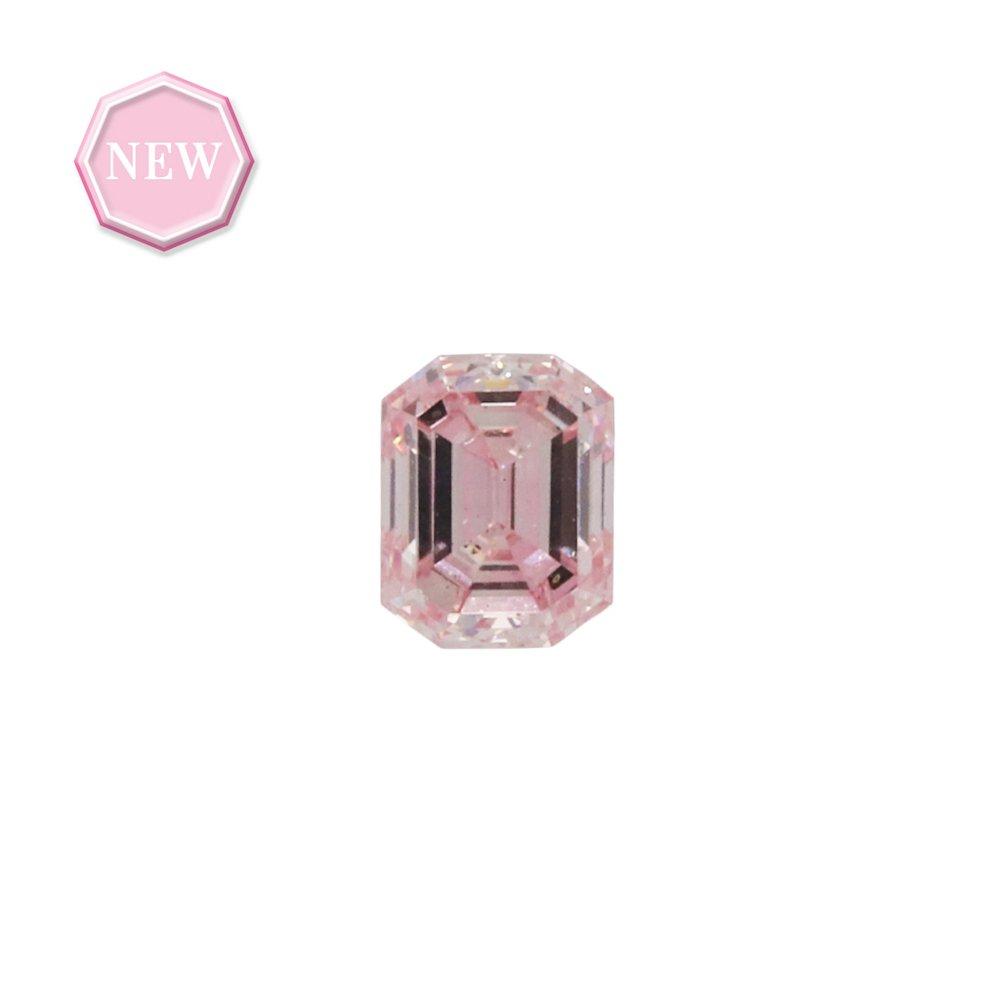 0.20ct Natural Fancy Purplish Pink, 7P, VS1, Argyle pink diamond