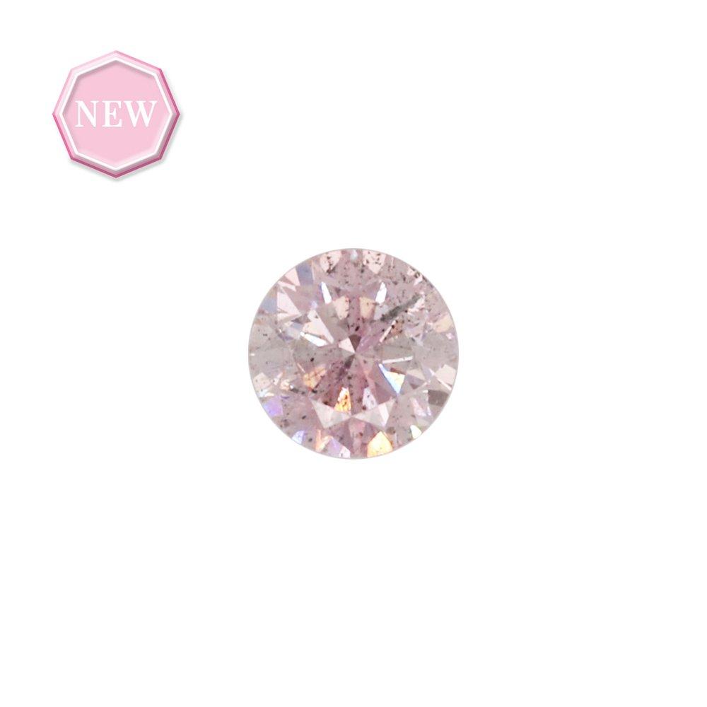 0.15ct Natural Fancy Pink, 7PP, I1, Argyle pink diamond