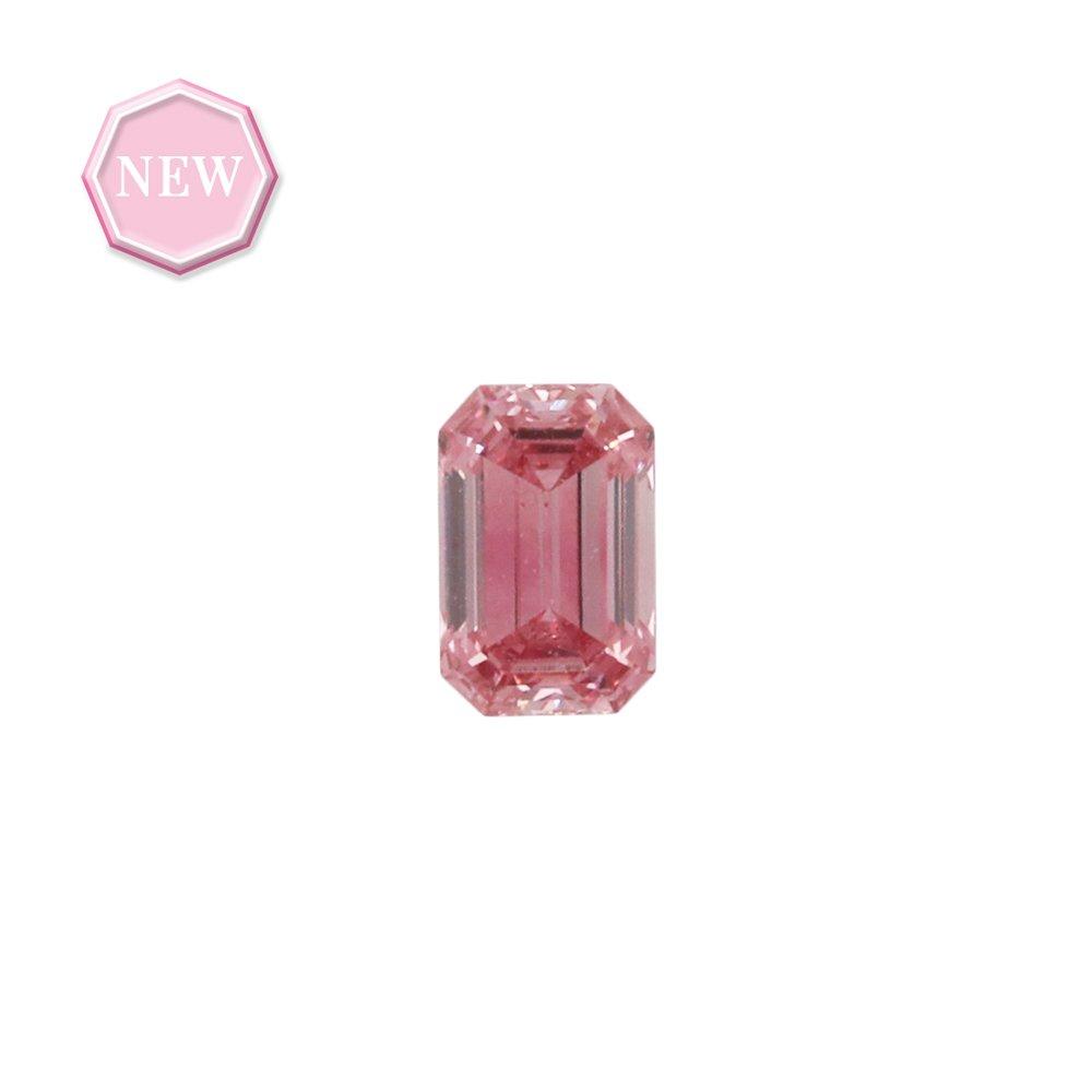 0.26ct Natural Fancy Vivid Purplish Pink, 3PP, SI1, Argyle pink diamond