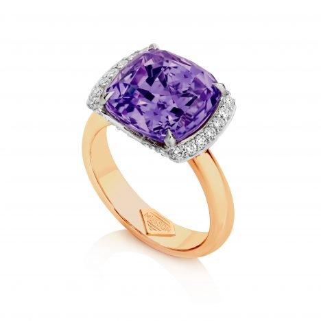 Bella Amethyst Ring